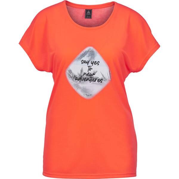 Bademode - FIREFLY Damen Shirt Onna › Orange  - Onlineshop Intersport