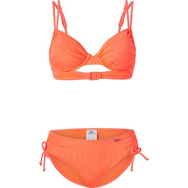 Bademode - FIREFLY Damen Bikini STRC2 Shirin › Orange  - Onlineshop Intersport