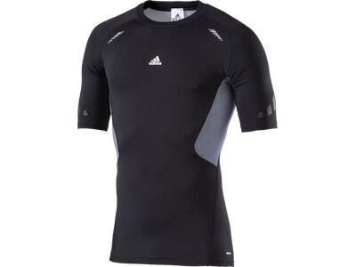 ADIDAS Herren Shirt TF PREP SS Schwarz
