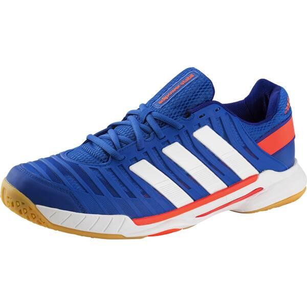 ADIDAS Herren Handballschuhe adipower Stabil 10.1 | Schuhe > Sportschuhe > Handballschuhe | Blau - Weiß | ADIDAS