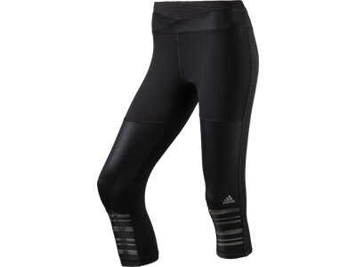 ADIDAS Damen SUPERNOVA 3/4 TIGHT W Schwarz