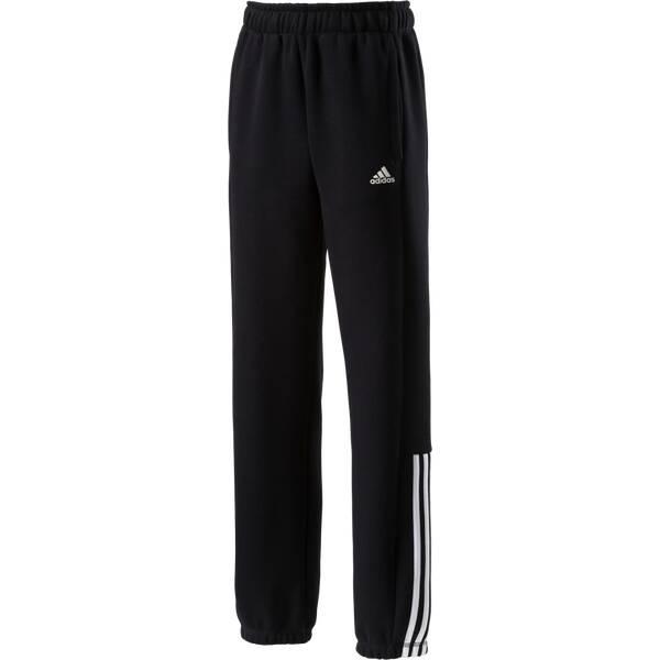 ADIDAS Kinder Sporthose Essentials Mid 3S Sweat Schwarz