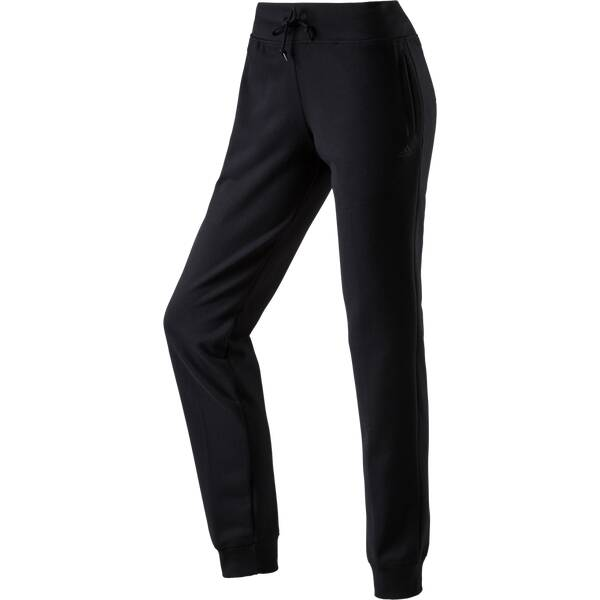 ADIDAS Damen Trainingshose Essentials Cuffed Pant Schwarz