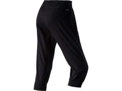 ADIDAS Damen 3/4 Sporthose Essentials Schwarz