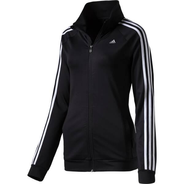 ADIDAS Damen Sweatshirt Gym Basics 3S Tracktop