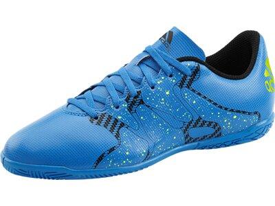 ADIDAS Kinder Fussball-Hallenschuhe X 15.4 IN J Blau