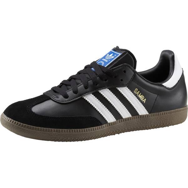 separation shoes 20c2a cdef1 ADIDAS Herren Freizeitschuhe SAMBA Schwarz   Weiß   Blau
