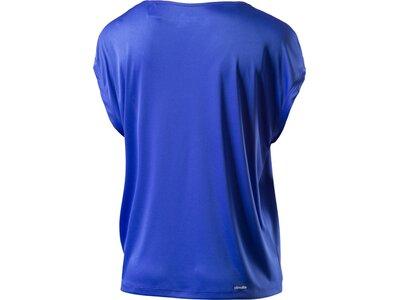 ADIDAS Damen Sweatshirt GRAPHIC TEE Blau