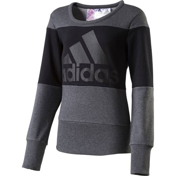 ADIDAS Kinder Sweatshirt Wardrobe Style Schwarz