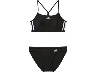 ADIDAS Damen Bikini INFINITEX 3-Stripes Schwarz