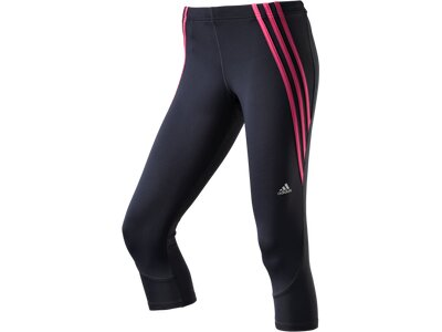 ADIDAS Damen OZ 3/4 TIGHT W Grau