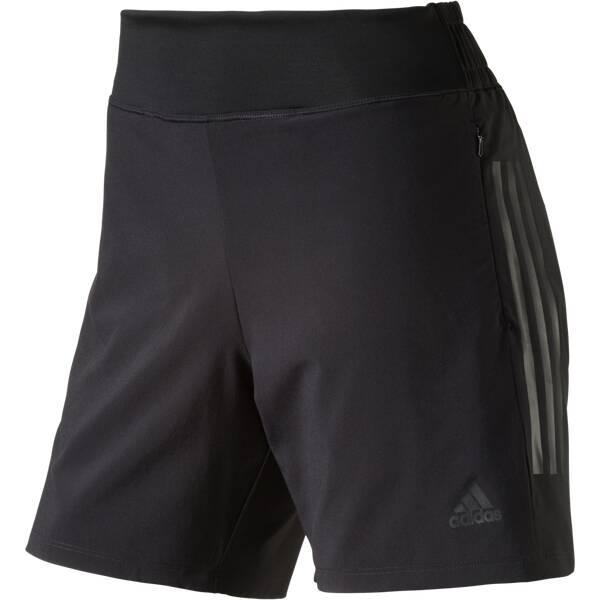 ADIDAS Damen Shorts Woven Schwarz