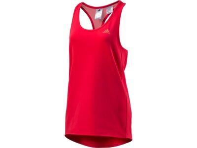 ADIDAS Damen Shirt KINESICS PE TNK Rot