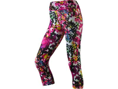 ADIDAS Damen Tight Workout 3/4 Flower Pink