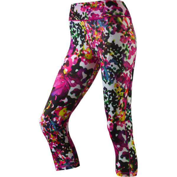 ADIDAS Damen Tight Workout 3/4 Flower
