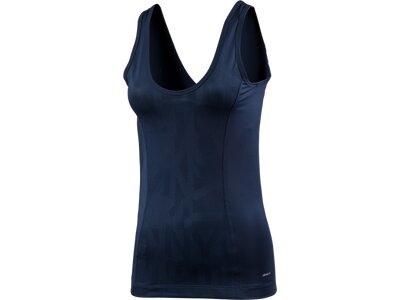 ADIDAS Damen Shirt U BACK TANK Blau