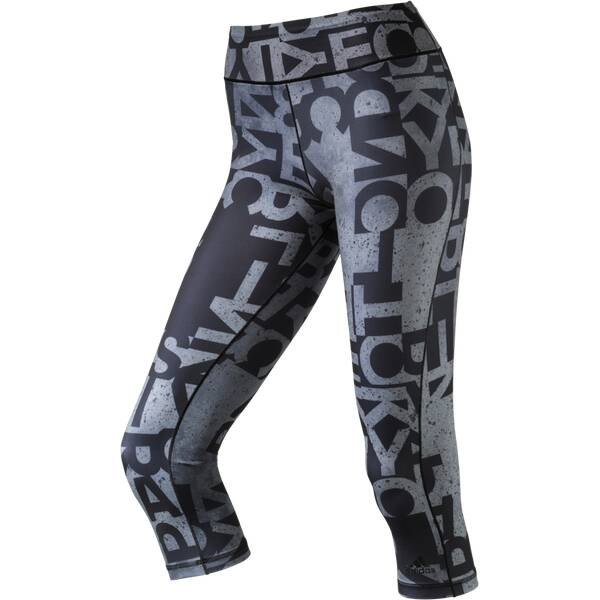 ADIDAS Damen Tight WO 3/4 TGHT AOP