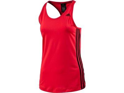 ADIDAS Damen Shirt BASIC 3S TANK Rot