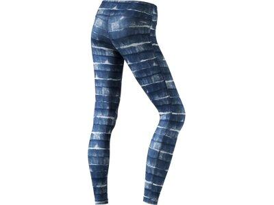 ADIDAS Damen Tight BASICS LONG TIG Blau