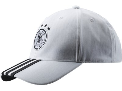 ADIDAS Herren DFB 3S CAP Weiß