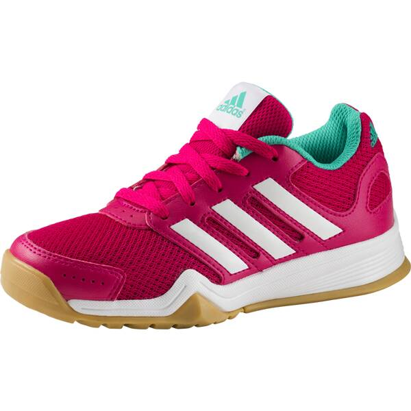 ADIDAS Kinder Hallenschuhe Interplay Pink
