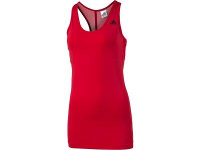 ADIDAS Damen T-Shirt Athletic Rot