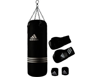 ADIDAS Boxen Set PERFORMANCE BOXING SET Schwarz