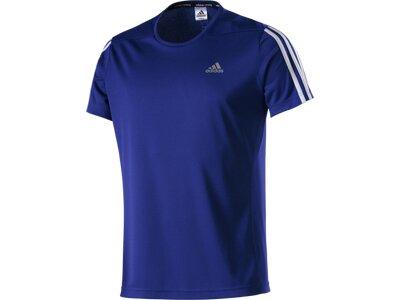 ADIDAS Herren T-Shirt OZ blau Blau
