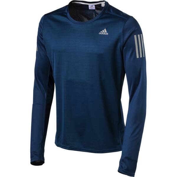 ADIDAS Herren Laufshirt / Trainingsshirt Response Long Sleeve Langarm