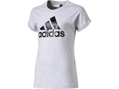 ADIDAS Kinder T-Shirt Logo Grau