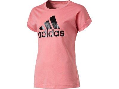 ADIDAS Kinder T-Shirt Logo Pink