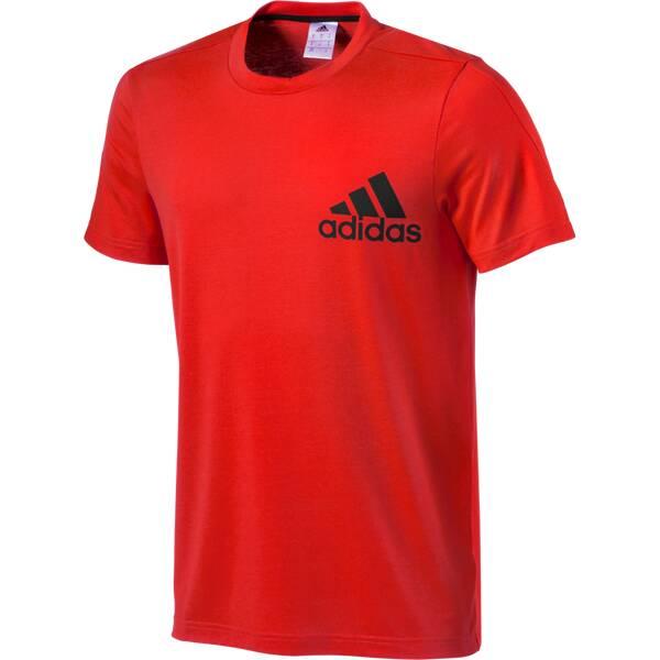 ADIDAS Herren T-Shirt Tentro Prmt Braun