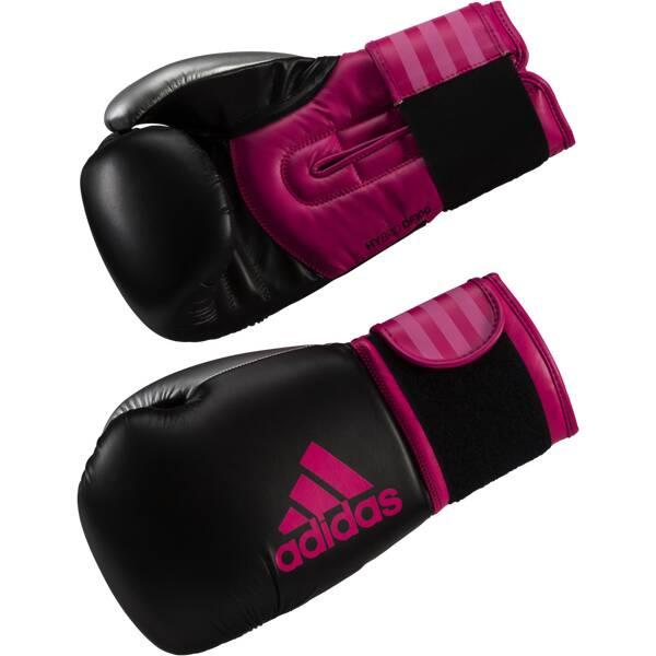 ADIDAS Handschuhe Boxhandschuhe Hybrid 100 Schwarz
