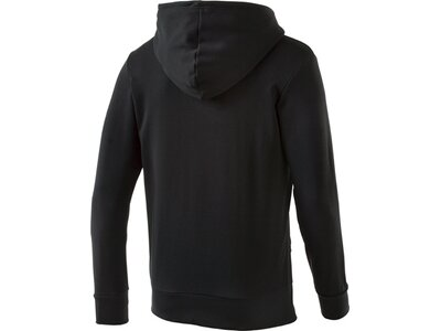 """ADIDAS Herren Sweatshirt mit Kapuze """"Essentials Linear Pullover Hood French Terry"""" Schwarz"""