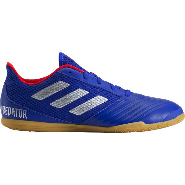 ADIDAS Herren Fußball-Hallenschuhe PREDATOR 19.4 IN SALA | Schuhe > Sportschuhe > Hallenschuhe | Blau - Silber - Rot - Beige | ADIDAS