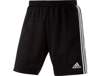 ADIDAS Herren TAN Jacquard Shorts Schwarz