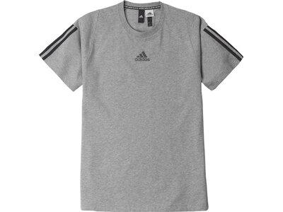 ADIDAS Herren T-Shirt MH 3S Grau