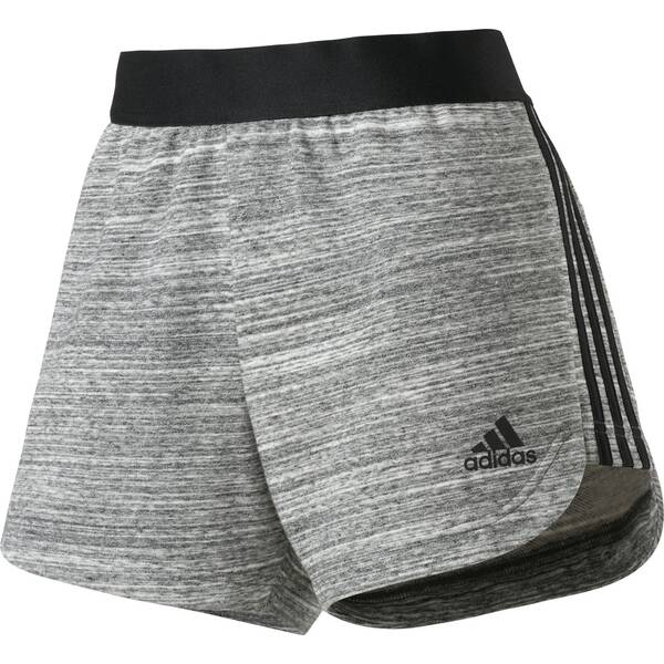 Hosen - ADIDAS Damen Shorts MH HTHR › Grau  - Onlineshop Intersport