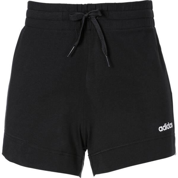 Hosen - ADIDAS Damen Essentials 3 Streifen Shorts › Schwarz  - Onlineshop Intersport