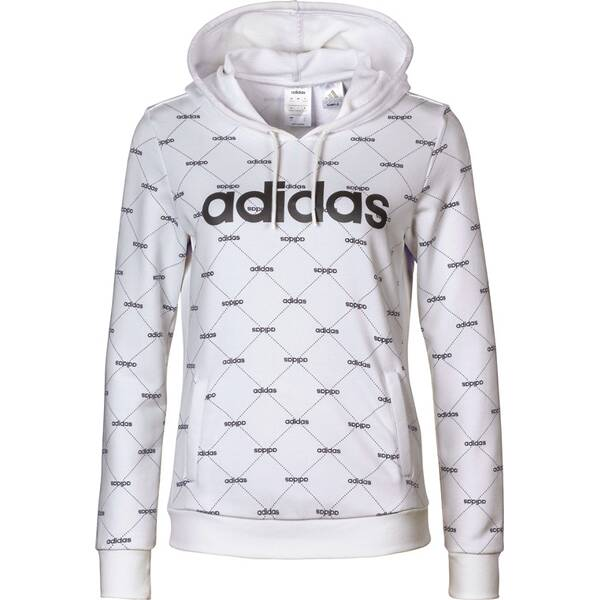 ADIDAS Damen Linear Graphic Hoodie