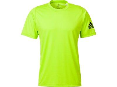 adidas Herren Freelift Tee Climalite Sport T-Shirt Gelb