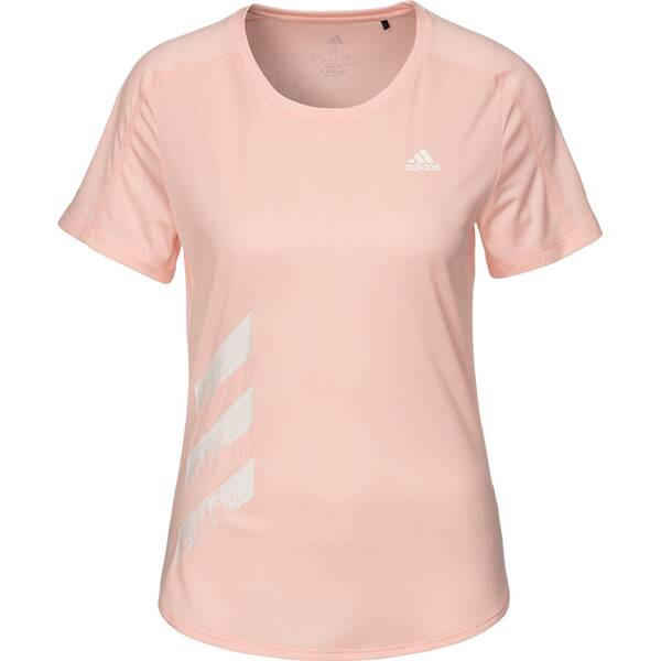 ADIDAS Damen RUN IT TEE 3S