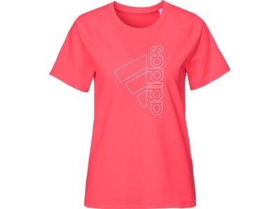 ADIDAS Damen Shirt TECH BOS Rot