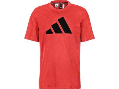 ADIDAS Herren Shirt M FI BOS A Orange