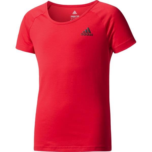 ADIDAS Girls Trainingsshirt / T-Shirt Prime Tee Rot