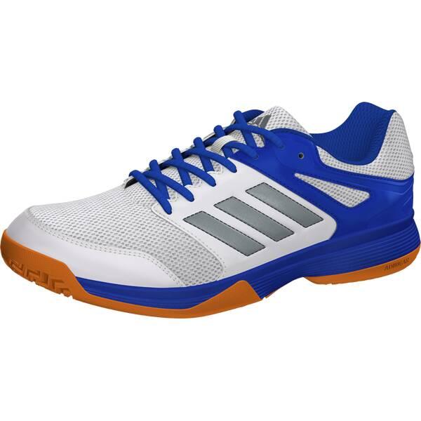 ADIDAS Herren Handballschuhe Speedcourt M | Schuhe > Sportschuhe > Handballschuhe | Weiß - Silber - Blau | Ab | ADIDAS