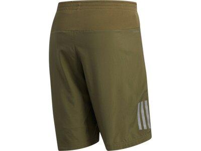 ADIDAS Herren Own the Run Two-in-One Shorts Grün