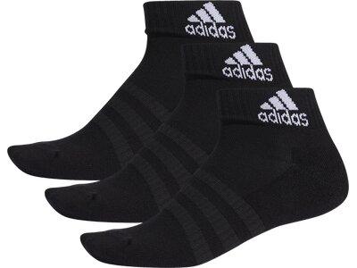 ADIDAS Herren Socken Cushioned Ankle Schwarz