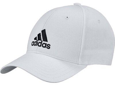 ADIDAS Herren BALL CAP COT Weiß