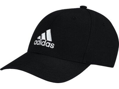 ADIDAS Herren BALL CAP COT Schwarz